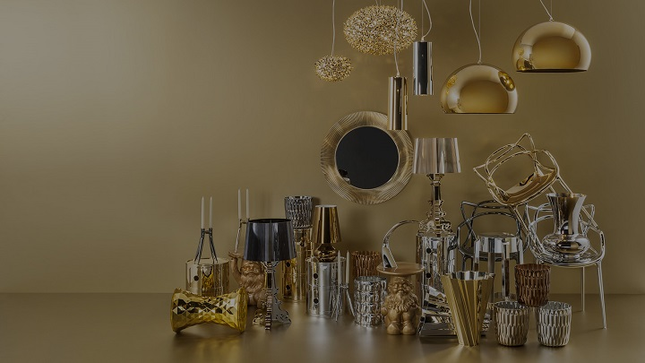 kartell_gold_style New pieces for decorating your home New pieces for decorating your home kartell gold style