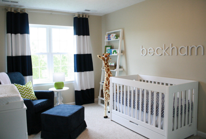 How to decorate a baby nursery home decor ideas - Newborn baby room decorating ideas ...