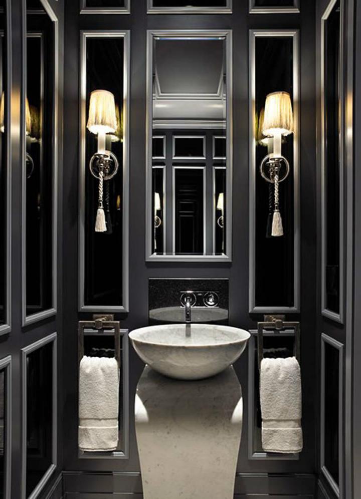 Black vanity: bathroom design ideas | Home Decor Ideas