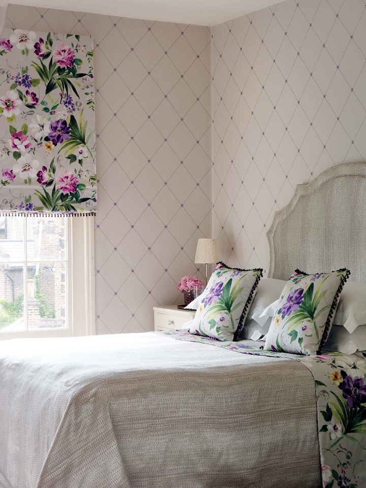 The Luxury Of Nina Campbell On Your Walls Home Decor Ideas