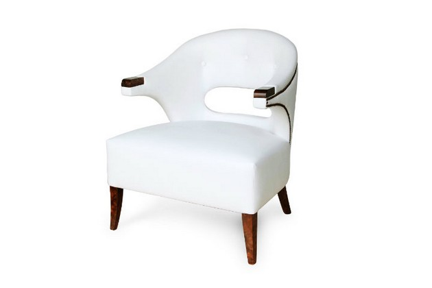 BRABBU-Nanook-white-learther-armchair Incredible white living room furniture that we love Incredible white living room furniture that we love BRABBU Nanook white learther armchair