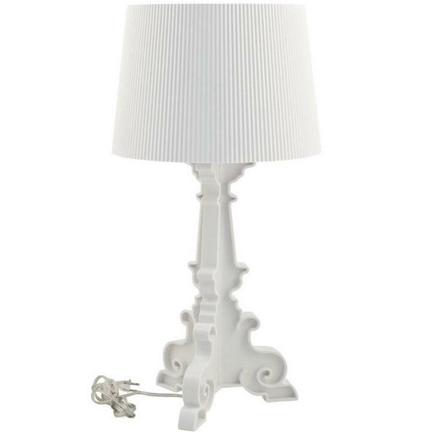 Kartell Bourgie Table Lamp Incredible white living room furniture that we love Incredible white living room furniture that we love Kartell Bourgie Table Lamp1