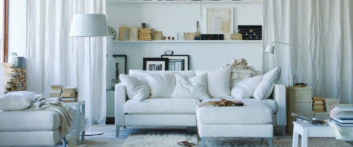 Incredible white living room furniture that we love Incredible white living room furniture that we love White living room featured