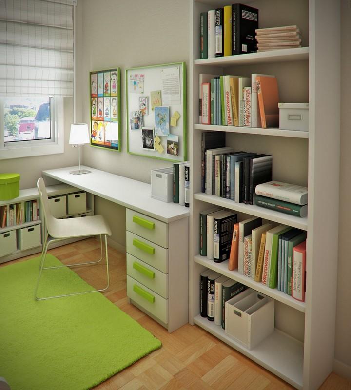 storage ideas for study | idi design