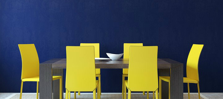 5 Amazing Wall Colors that You Need to Try On 5 Amazing Wall Colors that You Need to Try On greek blue paint color wall dining room interior design feautured