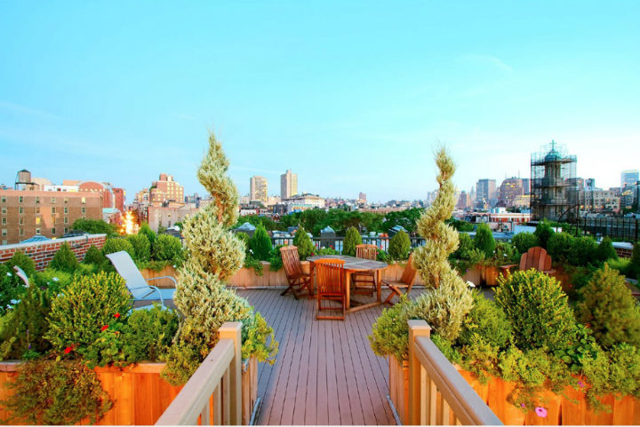 Roof top garden Tips to Minimize Urban Stress Tips to Minimize Urban Stress roof top garden