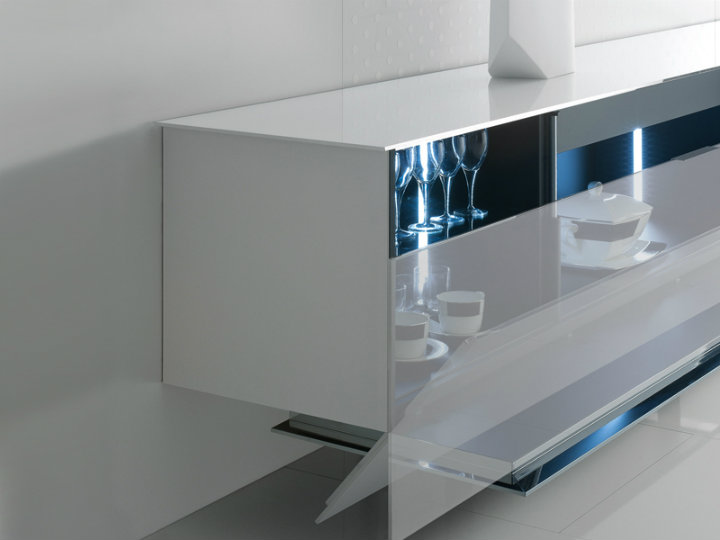Mirrored furniture: the best sideboards mirrored furniture Mirrored furniture: the best sideboards LUDWIG by LODOVICO ACERBIS