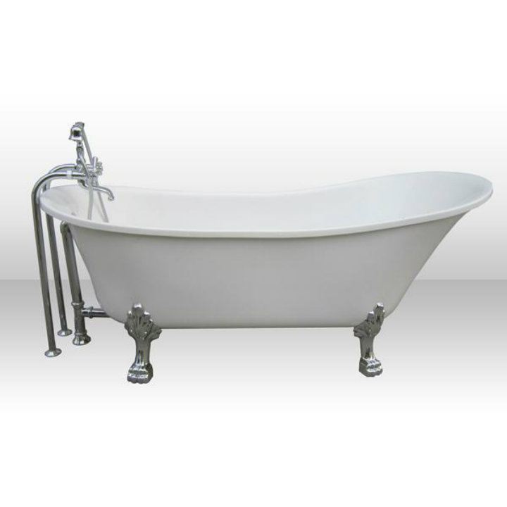 clawfoot tub Ten easy ways to make your bathroom a glamourous room Ten easy ways to make your bathroom a glamourous room clawfoot tub