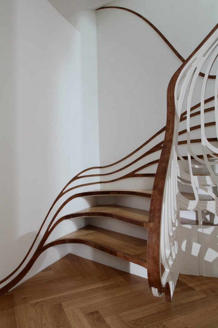 Innovating staircase Unusual staircase designs, let's innovate! Unusual staircase designs, let's innovate! imag 1