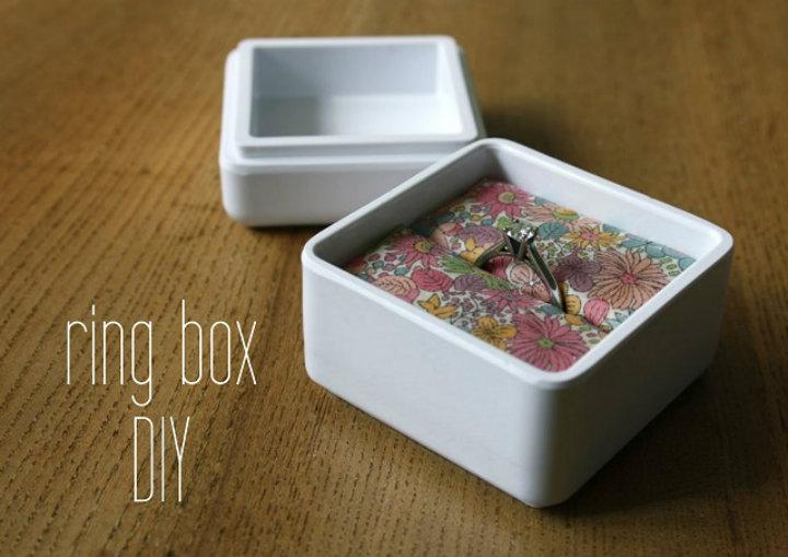 Ring Box DIY Ten tips to organize your home Ten tips to organize your home imag24