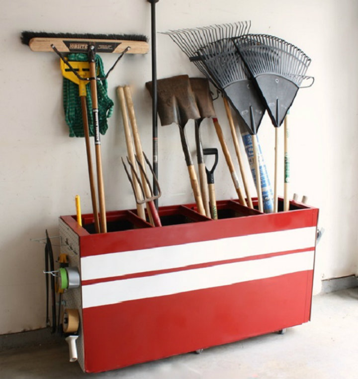 Turn a file cabinet into a garage storage unit Ten tips to organize your home Ten tips to organize your home imag41