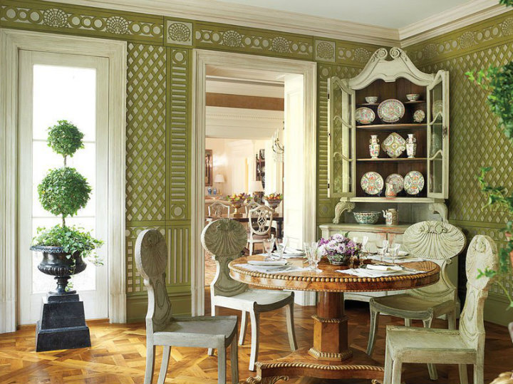 Luxurious And Design Round Dining Table The Most Elegant Decor Ideas