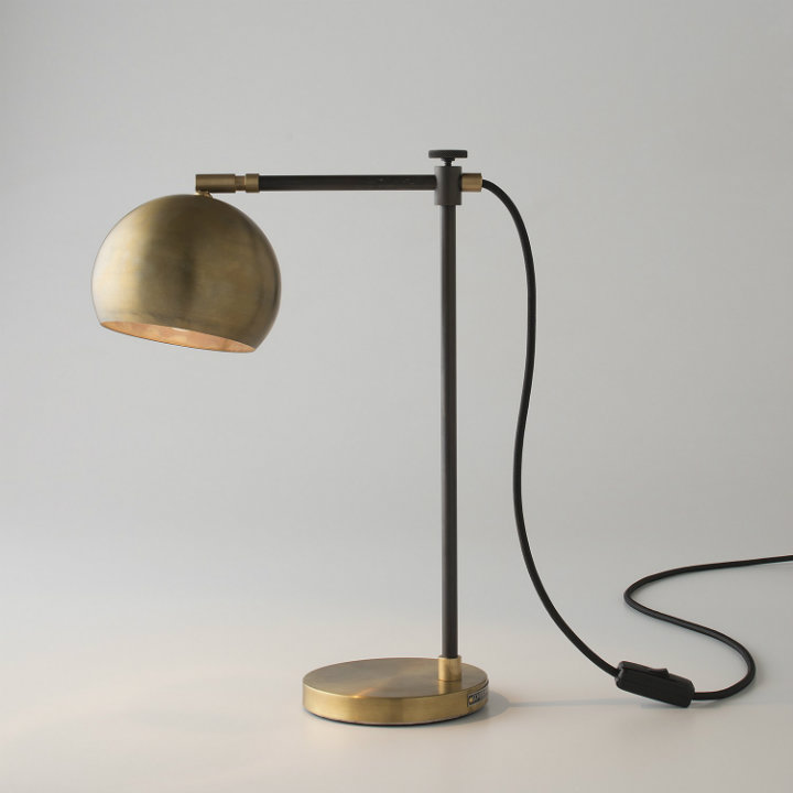 10 brass table lamps every home must have home decor ideas miles desk lamp from schoolhouseelectric 10 brass table lamps every home must aloadofball Choice Image