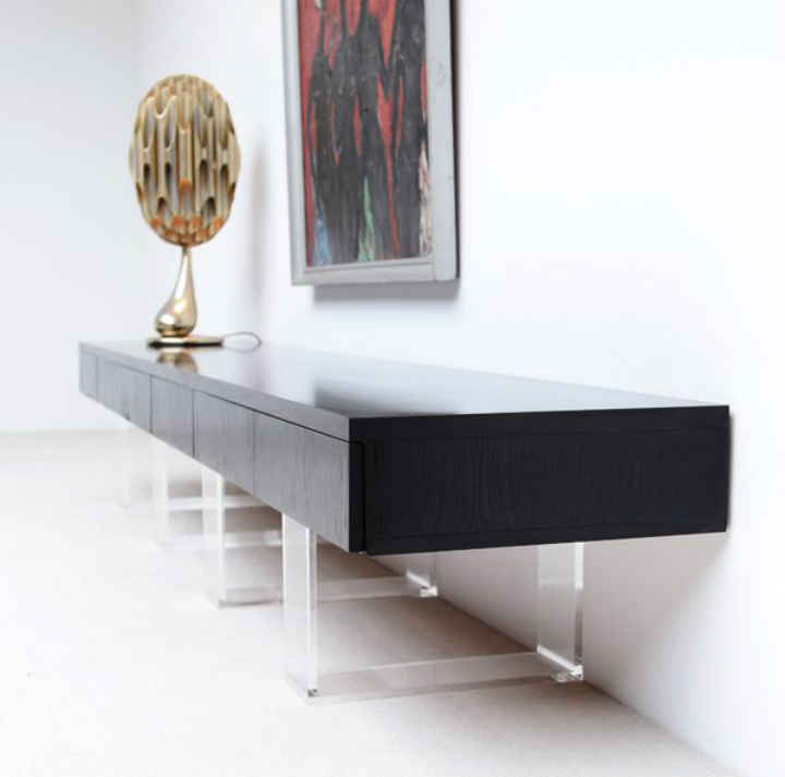 Design Suggestions: stylish black sideboard | Home Decor Ideas