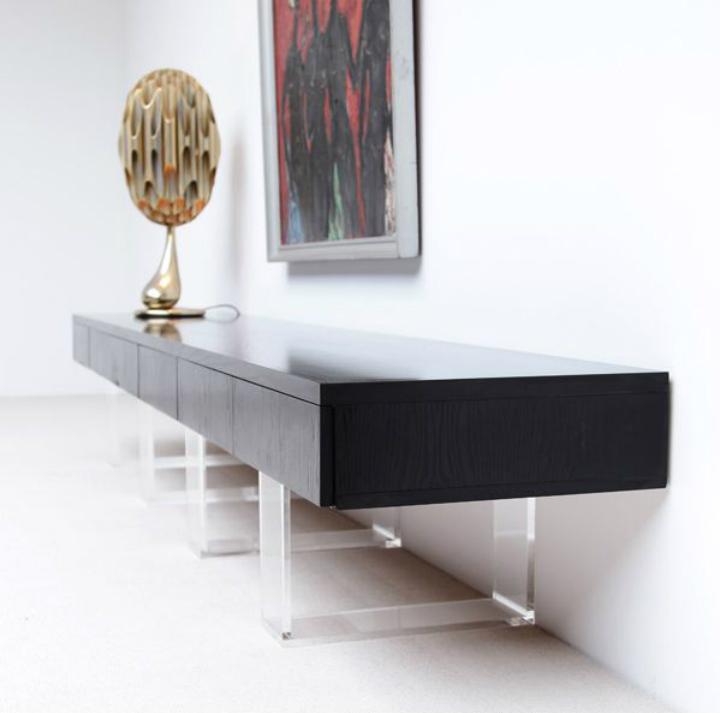 Design Suggestions: stylish black sideboard | Home Decor Ideas