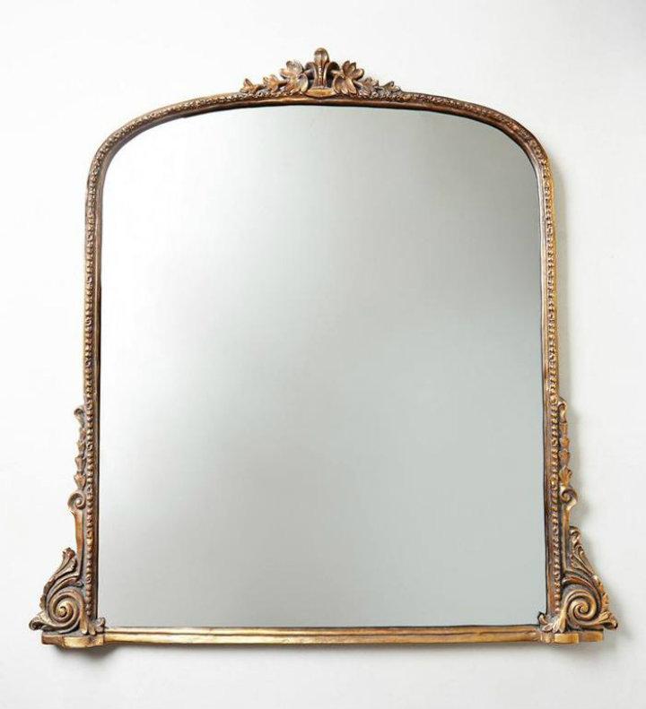 oversize mirror Ten easy ways to make your bathroom a glamourous room Ten easy ways to make your bathroom a glamourous room oversize mirror
