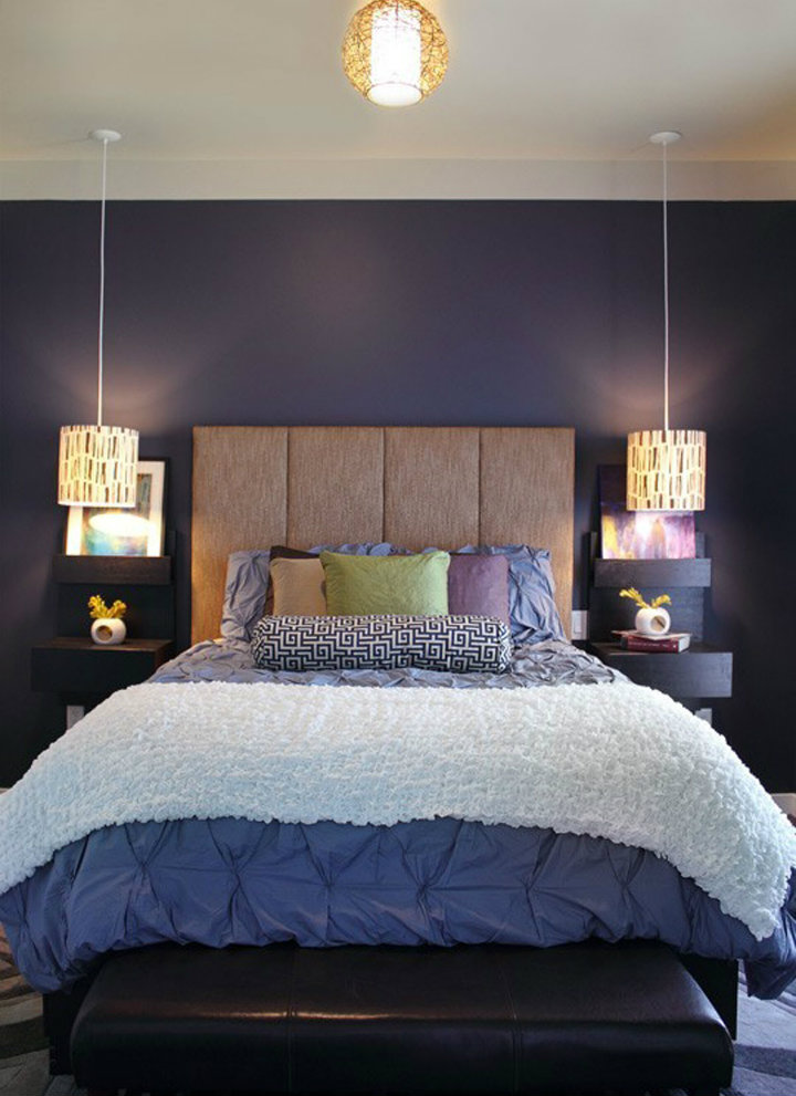 Top 6 Contemporary Hanging Bedside Lamps Home Decor Ideas