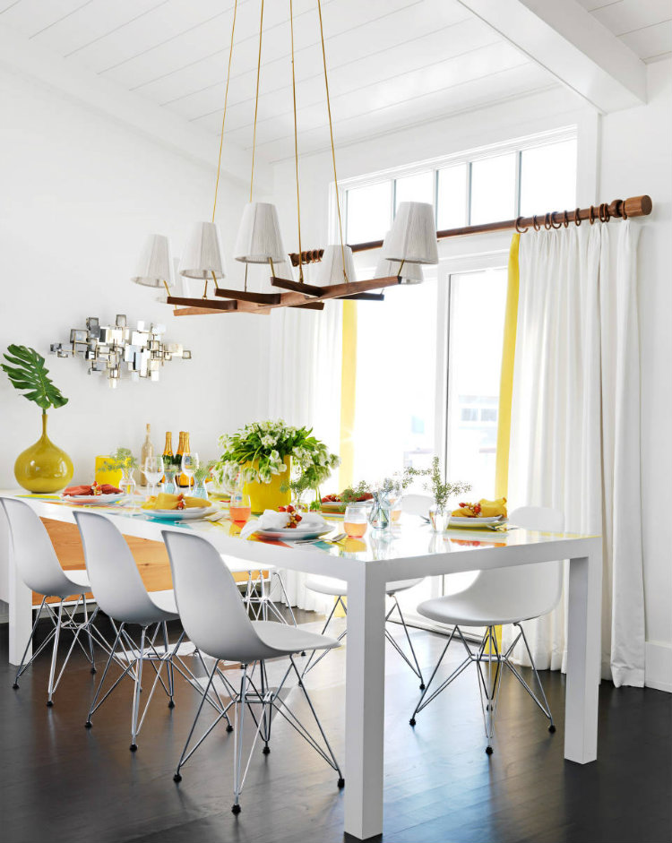 Bring more style to your dining room Bring more style to your dining room Bring more style to your dining room 06 hbx modern white pendant 0911 de xln