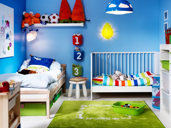 3 Blue: The New Trend For Your Children's Room Blue: The New Trend For Your Children's Room 36