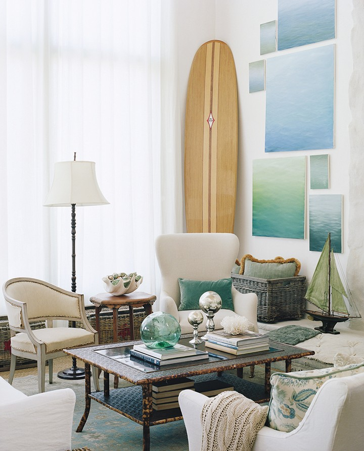 Be Inspired By The Sea… Let Blue Enter Your House!