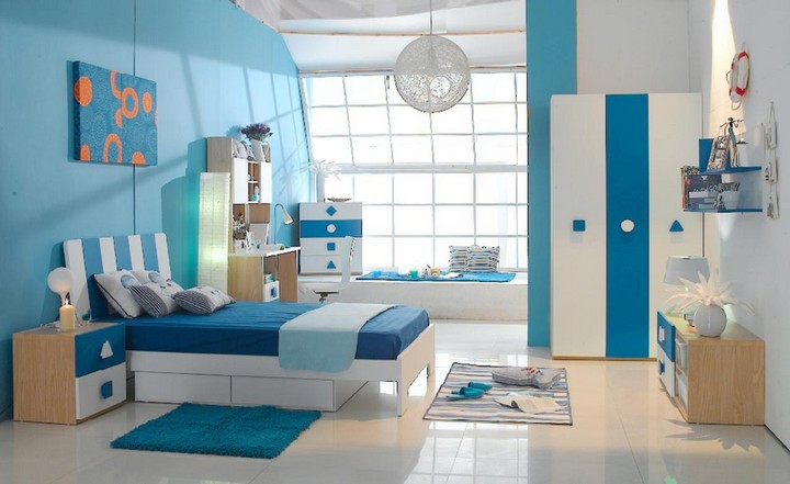 Blue: The New Trend For Your Children's Room Blue: The New Trend For Your Children's Room Blue: The New Trend For Your Children's Room 9