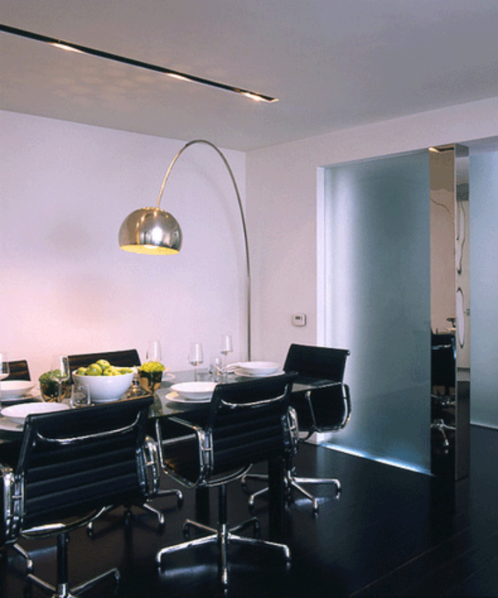 arc lamp dining design ideas home decor ideas