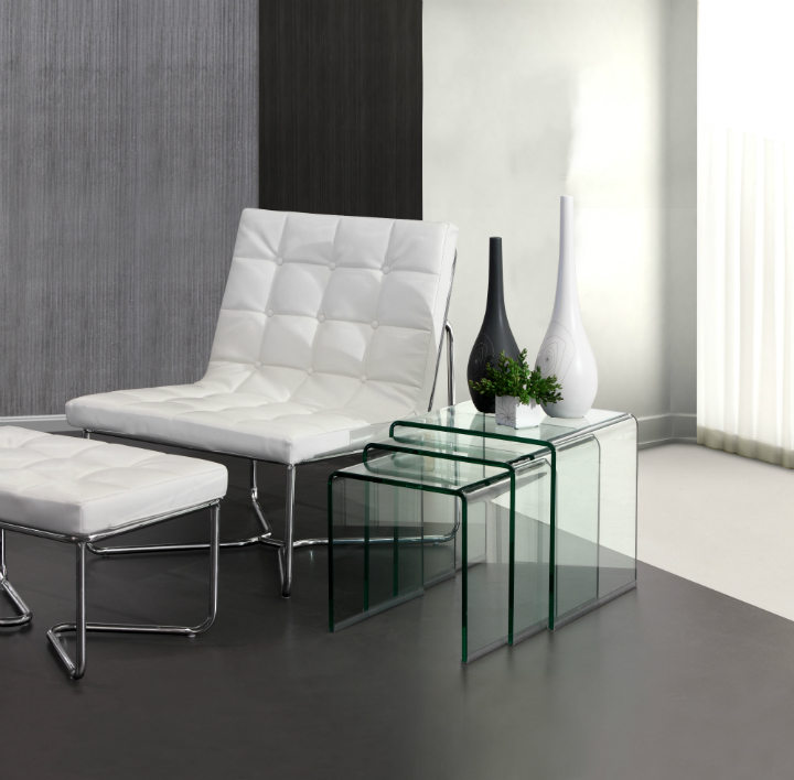 10 modern Nesting Tables 10 Modern Nesting Tables 10 Modern Nesting Tables Explorer Nesting Tempered Glass Table Zuo Mod 404104 lifestyle