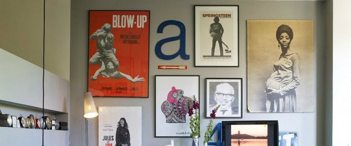 An art gallery wall can be the perfect home accessories that you need to transform a plain division into a stylish one. When displaying the art work or photos it is important to consider some ideas to make a statement a cohesive  gallery wall.