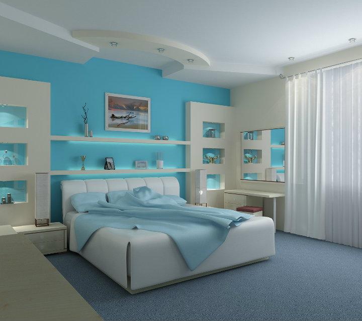 Light-Blue-Bedrom-Decorating-Ideas-