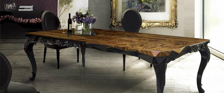 6 elegant wood dining room tables
