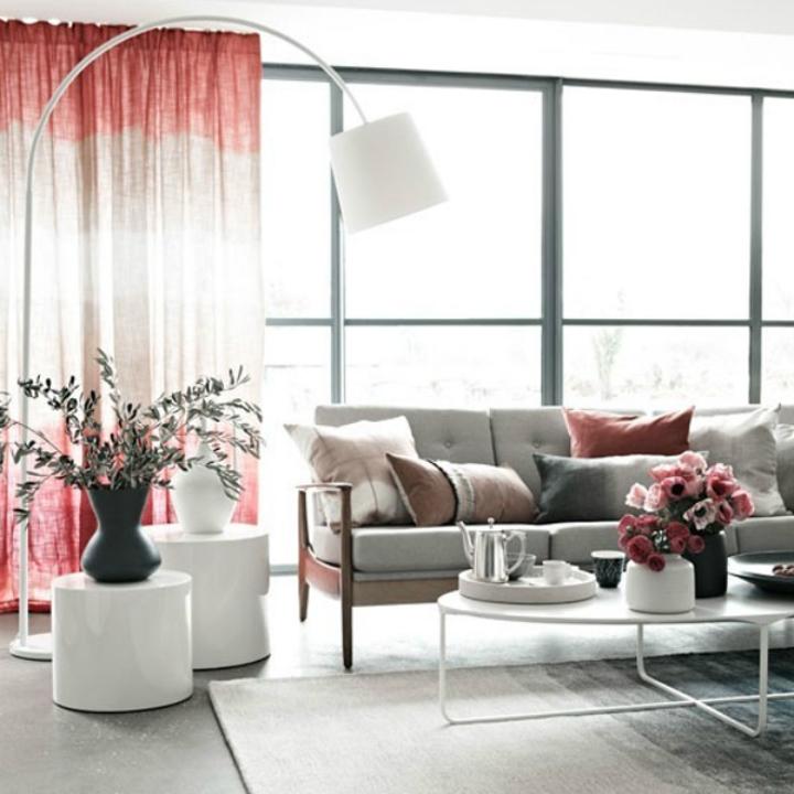 Modern Living Room Arc Lamp Design Ideas | Home Decor Ideas