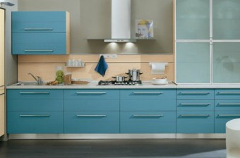 Blue Kitchen…why not?