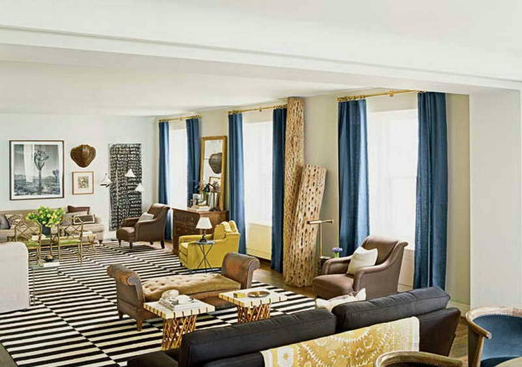 Amazing design ideas with beautiful rugs  Amazing design ideas with beautiful rugs  Amazing design ideas with beautiful rugs  Typical Flooring Nate Berkus Living Room