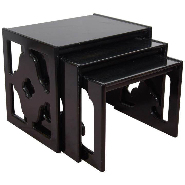 Beautiful Nesting Tables: Set of 3 Beautiful Nesting Tables: Set of 3 Beautiful Nesting Tables: Set of 3 X