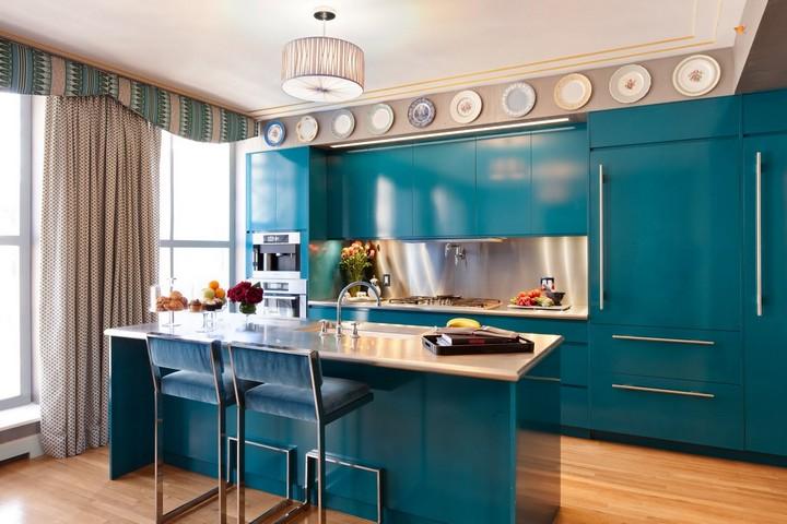 Blue Kitchen…why not? Blue Kitchen…Why not? Blue Kitchen…Why not? aliainteriordesign