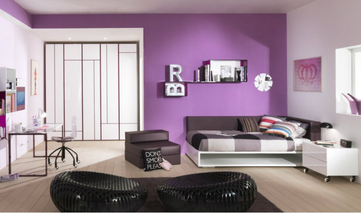 colorful small bedrooms decorating ideas | Bold and Colorful Bedrooms | Home Decor Ideas