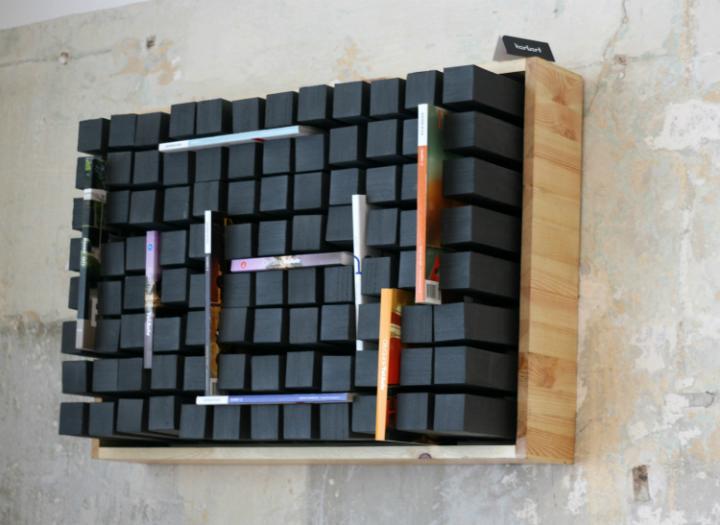 10 creative bookshelf designs home decor ideas - Wall mounted bookshelf designs ...