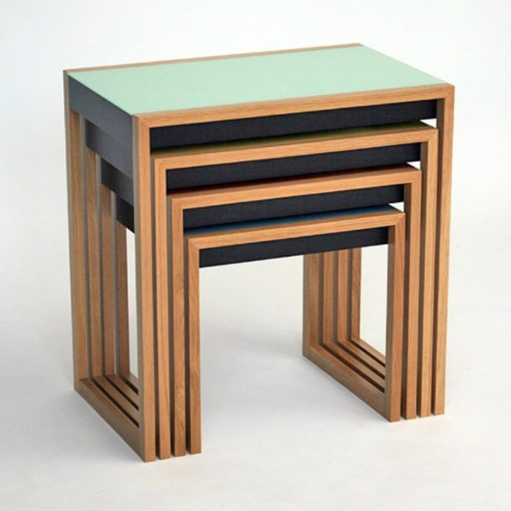 10 modern Nesting Tables 10 Modern Nesting Tables 10 Modern Nesting Tables josef albers nesting tables set of 4 800x800