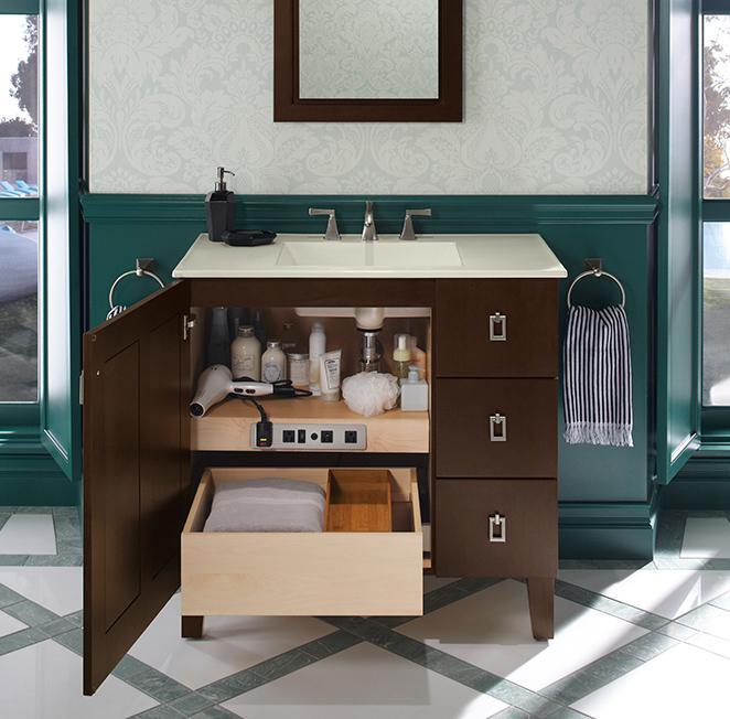 kohler vanity 2 Interior Design Best Of Year Awards 2014 – Bath: Cabinetry Interior Design Best Of Year Awards 2014 – Bath: Cabinetry kohler vanity 2