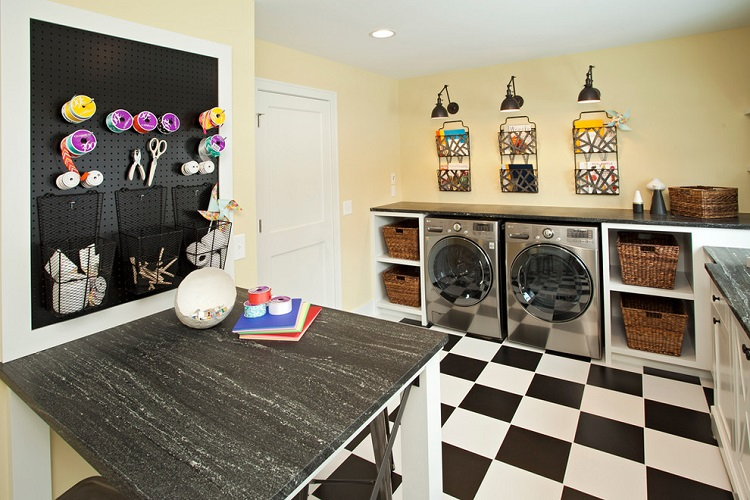 Shelving – The Perfect Solution for your Laundry Room!