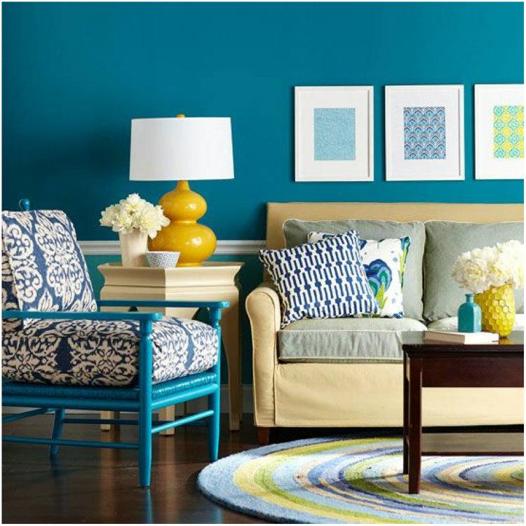Home Interior Color Ideas: Interior Designers Reveal 2015 Top Colors