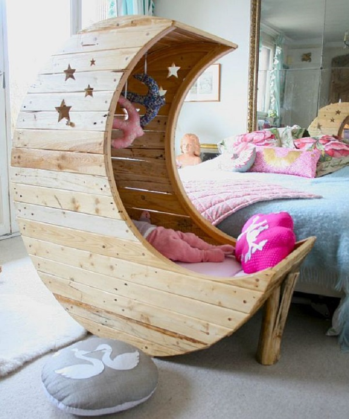 The Cutest Baby Cribs You've Ever Seen The Cutest Baby Cribs You've Ever Seen The Cutest Baby Cribs You've Ever Seen moon shaped crib