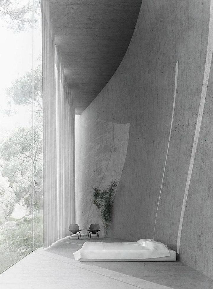 10 Amazing Contemporary Bedrooms 10 Amazing Contemporary Bedrooms 10 Amazing Contemporary Bedrooms oracle fox sunday sanctuary concrete house interiors minimalist 7