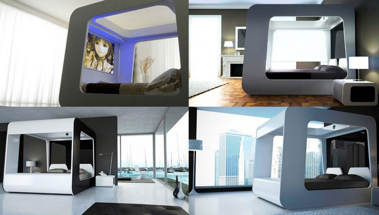 Futuristic Bedrooms Designs  Bedrooms Futuristic Bedrooms Designs 131