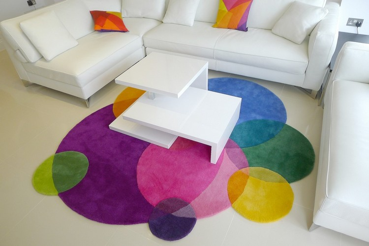 ROUND AND COLORFUL rugs, the new trend! ROUND AND COLORFUL RUGS, THE NEW TREND! ROUND AND COLORFUL RUGS, THE NEW TREND! 315