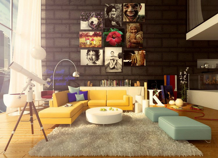 POP ART TO DECORATE YOUR HOME Colorful Interior
