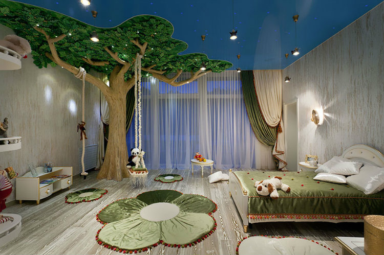 How to create a magic world for your kid's room