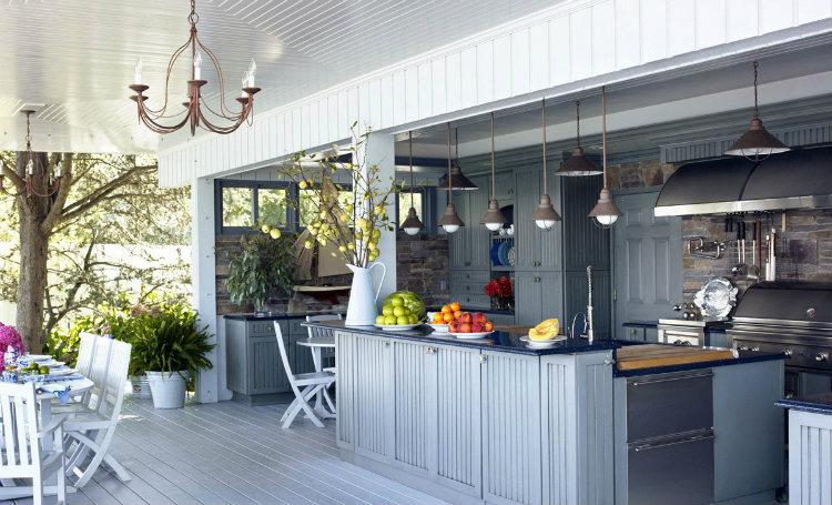 Amazing Outdoor Kitchens Amazing Outdoor Kitchens Amazing Outdoor Kitchens hbz blue outdoor kitchen 0610 xln