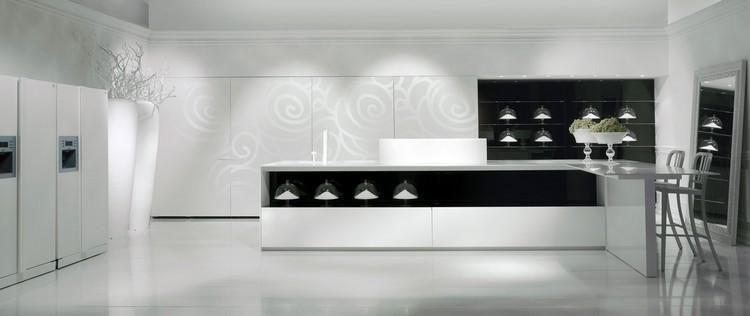 INSPIRING KITCHENS FOR YOUR LUXURY HOME INSPIRING KITCHENS FOR YOUR LUXURY HOME Black and white kitchen design ideas 261