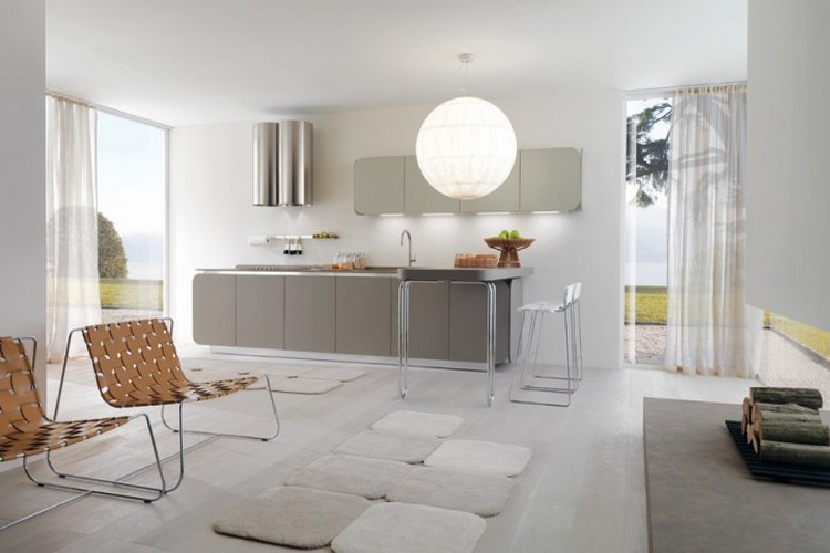 Grey Decor Ideas Amazing Grey Decor Ideas Thanks to Fifty Shades of Grey Decor IT IS Kitchen Design by Simone Micheli for Euromobil Architecture Images and Gallery